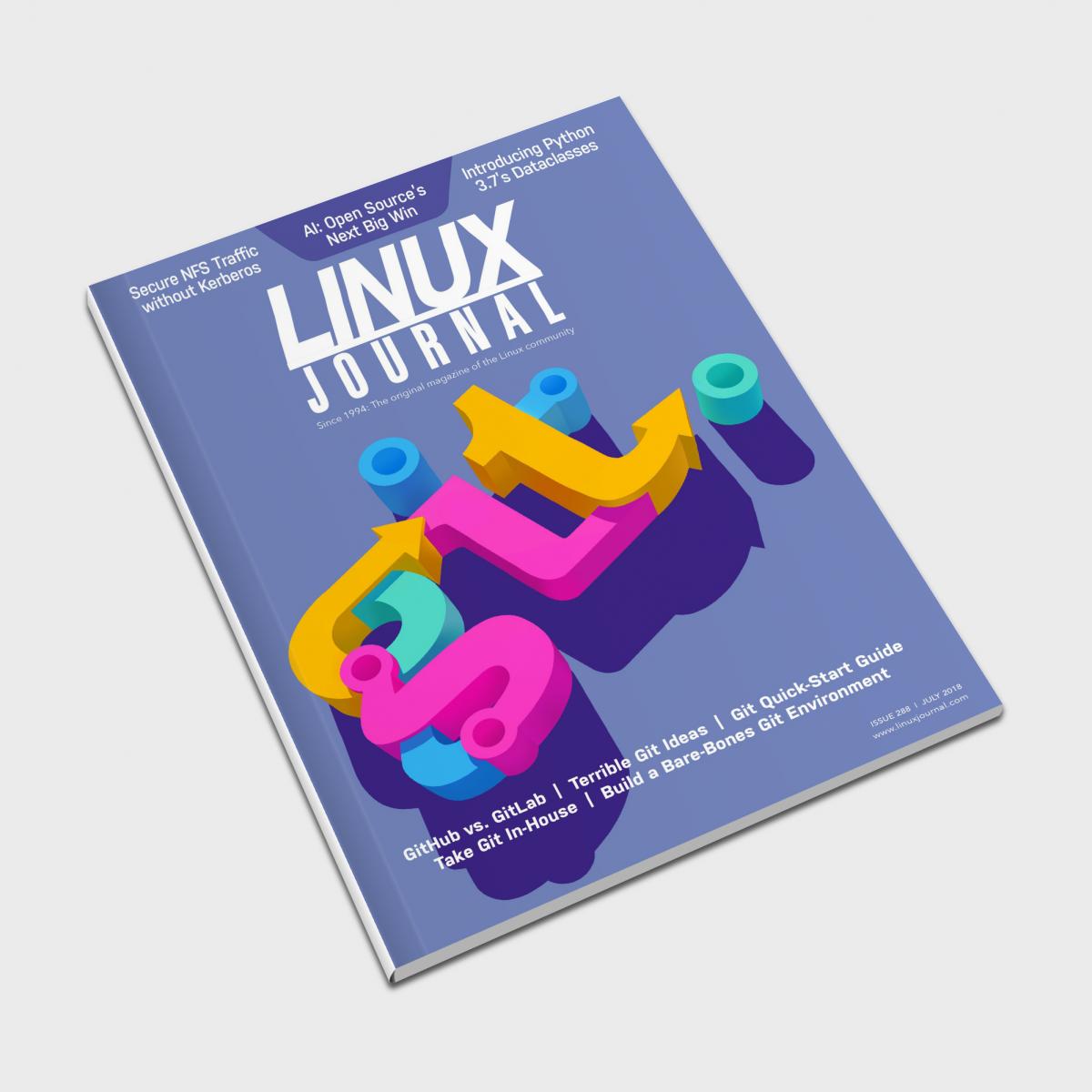 Linux Journal 'Git' Cover